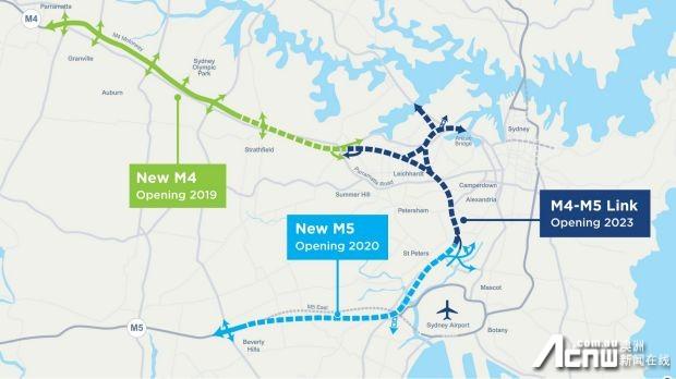 悉尼M4高速扩建第一